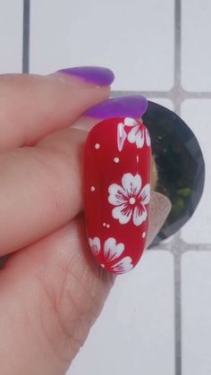 discount art Simple nails art design video Tutorials Compilation Part 105 me, see more nails DIY tutorials and update them every day. Flower Nail Designs, Simple Nail Art Designs, Easy Nail Art, Simple Art, Simple Style, Cute Christmas Nails, Christmas Nail Art Designs, Nail Art Designs Videos, Nail Art Videos