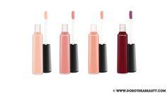 MAC Haute Dogs Collection: Mineralize Glass in Lap Dog, Sheer Coincidence, Modest and Dressed To The K9S