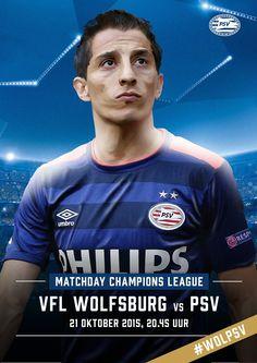 MATCHDAY! Blijft PSV koploper in Groep B van de @ChampionsLeague? Vanavond de wedstrijd tegen Wolfsburg! #wolpsv