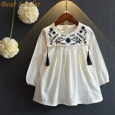 Bear Leader Girls Dresses 2016 Brand Girls Dress College Wind Embroidery Design Dress for Girls Kids Clothes Princess Dresses Fashion Kids, Little Girl Fashion, Little Girl Dresses, Girls Dresses, Fashion Outfits, Dresses 2016, Pageant Dresses, Kids Outfits Girls, Baby Outfits