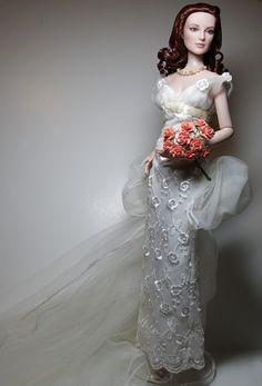 wedding gowns for dolls.  Iris in True Romance..1..5 qw