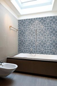 The Artisan series by Southern Cross Ceramics combines the aesthetics of encaustic cement with the durability and low porosity of porcelain tilein a slim 7mm tile that is ideal for use on floors and walls. With 15 eye catching designs in 10 popular colourways, users can create their own designs or order a customised blend. No sealing required. http://www.abltilecentre.com.au/geneva-denim/