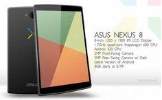 Nexus 8 Data di uscita, Caratteristiche, Prezzo, del Nuovo Google Nexus Tablet