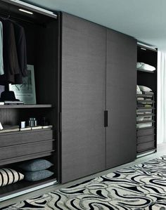 Best Modern Wardrobe Furniture Design For Awesome Home Inspiration – Home & Apartment Guide Wardrobe Room, Wooden Wardrobe, Wardrobe Design Bedroom, Bedroom Furniture Design, Wardrobe Furniture, Furniture Layout, Furniture Stores, Custom Furniture, Furniture Ideas