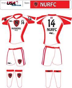 USA Rugby Club NURFC Uniform Design Idea