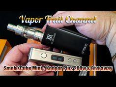 SMOK XCube Mini & Koopor Plus 200w & BIG Giveaway (w/ Divinity Line Juice included) - YouTube
