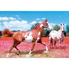 Clementoni Jigsaw Puzzle 1000 pieces - Horses (Cod. 39016) @Suzy Ketterling