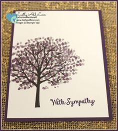 Sheltering Tree Sympathy Card - Lastly Add Love - 1