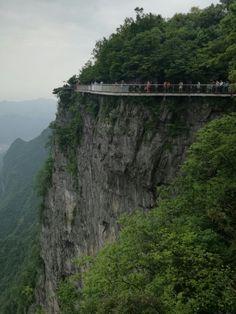 Tianmem Mountain, Zhangjiajie, China Zhangjiajie, Places To Travel, Places Ive Been, Discovery, Mountain, China, Nature, Naturaleza, Destinations