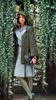 Photo by Barry Lategan Vogue Italia 1973