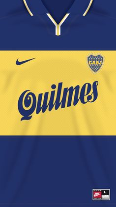 Boca Juniors kit home