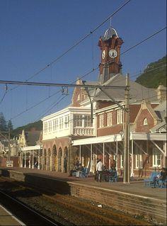 Muizenburg Station in Muizenberg, Cape Town. Western Cape. #muizenberg #muizenbergstation