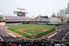 Target Field - Home to the Minnesota Twins