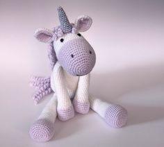 Calista the Unicorn Crochet Pattern PDF by TheClumsyUnicorn on Etsy https://www.etsy.com/uk/listing/294831047/calista-the-unicorn-crochet-pattern-pdf
