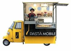 Food Inspiration Food Truck // Stalls on Wheels Events Markets Australia www. Food Truck Business, Food Cart Design, Food Truck Design, Food Trucks, Mobile Food Cart, Mobile Cafe, Food Truck For Sale, Food Kiosk, Mobile Catering