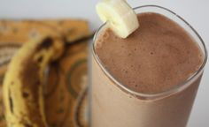 Dairy-free SCD Banana Peanut Butter Shake