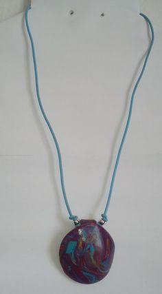 """#Halskette """"modern art"""" #Halsschmuck #Schmuck #Mode #hellblau #collar """"arte moderno"""" #joya #Necklace """"modern art"""" #Jewellery Jewelry Shop, Two By Two, My Etsy Shop, Arts And Crafts, Pendant Necklace, Modern, September, Handmade, Ootd"""