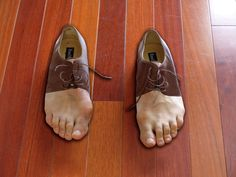 Erik Johansson , Shoefeet (perfect for my collection)