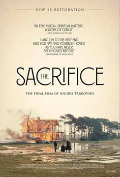Poster for Tarkovsky's The Sacrifice