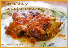 Berenjenas a la parmesana THERMOMIX