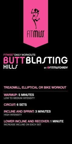 FitMiss Butt Blasting Workout