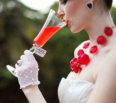 Alice in Wonderland Wedding. Fantasy wedding to the next level! Alice In Wonderland Wedding, Wonderland Party, Dusty Blue, Red Wedding, Wedding Day, Cranberry Wedding, Cranberry Cocktail, Wedding Foods, Budget Wedding