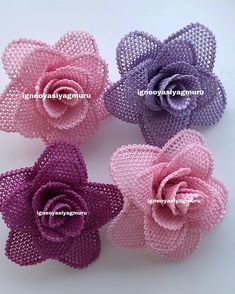 No photo description available. Burlap Crafts, Diy And Crafts, Crochet Stitches, Crochet Patterns, Bobbin Lacemaking, Needle Lace, Felt Art, Ribbon Embroidery, Irish Crochet