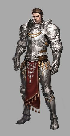 Risultati immagini per paladin gauntlet fantasy Fantasy Character Design, Character Concept, Character Inspiration, Character Art, Armadura Medieval, Fantasy Male, Fantasy Armor, Final Fantasy, Medieval Armor
