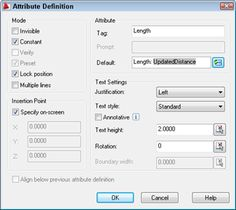 """You can use fields (AutoCAD 2005 and later) to create automatic labels that provide information about objects. I've covered aspects of this topic before. In """"Tutorial: Display the area of an enclosed figure,"""" I show how to use fields to create a label that displays an area. In """"Tutorial: Create attributes,"""" I mention that you [...]"""