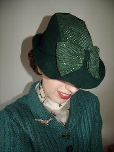 Ladies Hats - 1930s