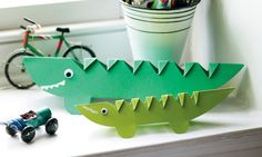 Crocodile Paper Craft Fun for Kids | Metro Parent This it the one I was talking about @Deborah Essex