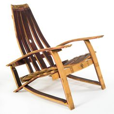 Adirondack Chair | Zin Chair Furniture Barrel Furniture, French Oak, Rocking Chair, Chairs, Wine, Home Decor, Ideas, Chair Swing, Decoration Home