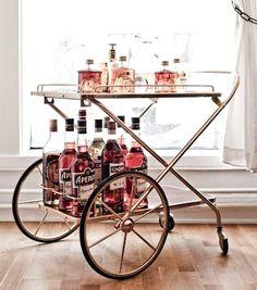 Old school bar on wheels.