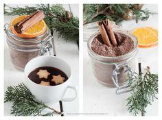 #aNataletiregalo 1. Preparato homemade per cioccolata calda all'arancia e cannella. Una nuova rubrica!