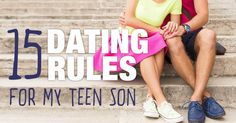 You're old enough to date, so it's on like Donkey Kong. Here are 15 rules to help you on your way.