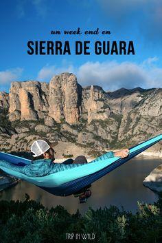 Un week-end en Sierra de Guara - Un road-trip en van aménagé : lieux à visiter, et idées randos.  Sur www.tripinwild.fr