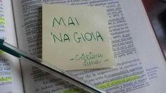 #mainagioia su un #postit  #maiunagioia #neverajoy #umorismo #ironia