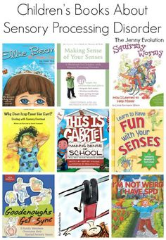 Children's books About Sensory Processing Disorder