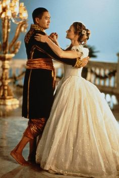 Chow Yun Fat and Jodie Foster in Anna & the King (early 1860s)