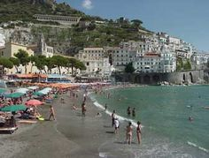 The Amalfi Coast Italy hotels & accommodation.