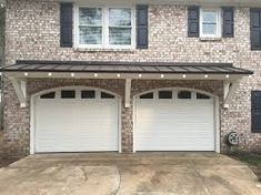 Best Door And Overhang In 2019 Garage Door Design Best 400 x 300