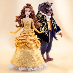 Belle and the Beast Doll Set - Disney Fairytale Designer Collection