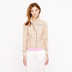 Piped Foulard Shirt