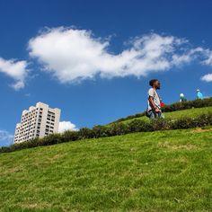 Up the hill by @prettygoodeye