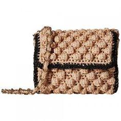 50% off Missoni M - Crossbody Bag Lurex Rafia Mini Nude - $197.99 #missoni #missonim #crossbodybag