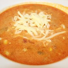 Tacosuppe på 20 minutter | Spiselise Thai Red Curry, Food And Drink, Ethnic Recipes