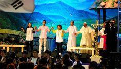 Papa Francisco en el encuentro con jóvenes de Asia / Foto: Comité Preparatorio de la Visita del Papa Francisco a Corea