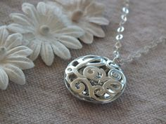 Anniversary Necklace Relationship Necklace Gift by TheSilverWing, $62.00
