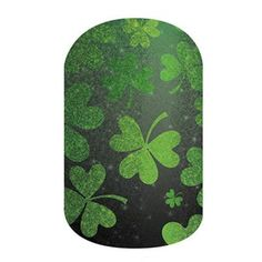 Shamrockin'   Jamberry. These nail wraps are the perfect statement, whether you're Irish or not. This lucky design sports shamrocks for a festive look. abettineski.jamberry.com