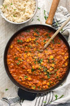 White Beans in Spicy Tomato Sauce | @naturallyella